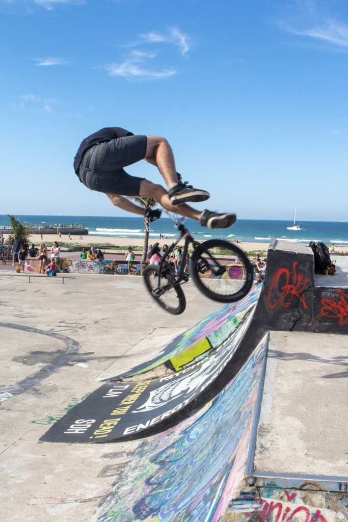 The skate park in North beach adds to the fresh atmosphere © SA Tourism