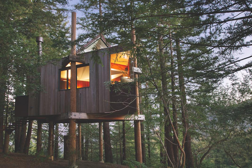 Tree House Exterior | © Kodiak Greenwood/Courtesy of Post Ranch Inn