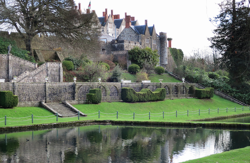 St. Fagans Castle and gardens