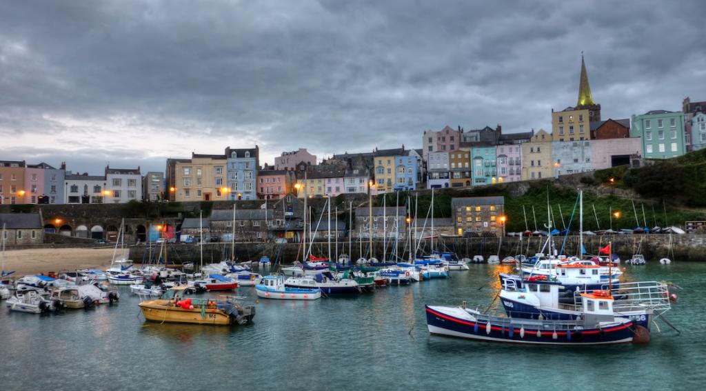 Tenby Harbour ©Matthew Hartley/Flickr
