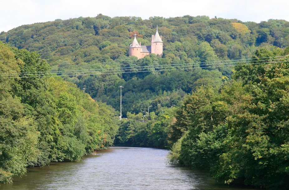 Castell Coch above the Taff|©agcox/Flickr