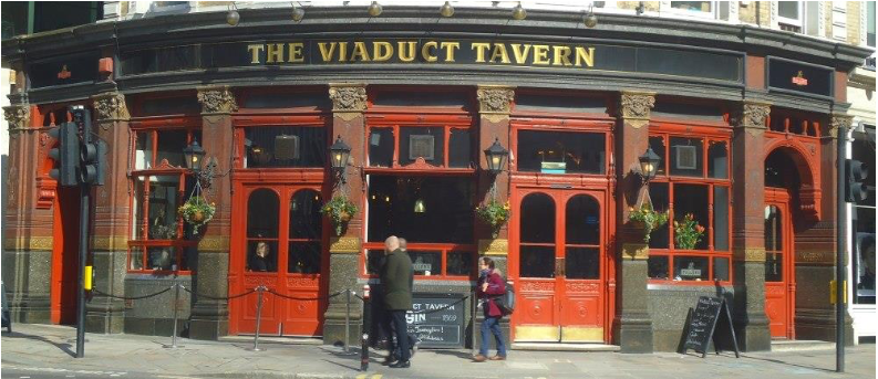 The Viaduct Tavern courtesy of Mike Gerrard
