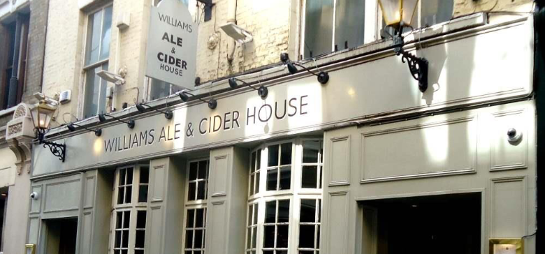 Williams Ale and Cider House courtesy of Mike Gerrard