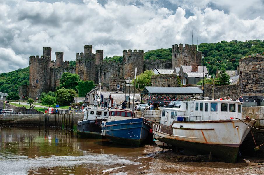 Conwy, North Wales ©Bert Kauffman/Flickr