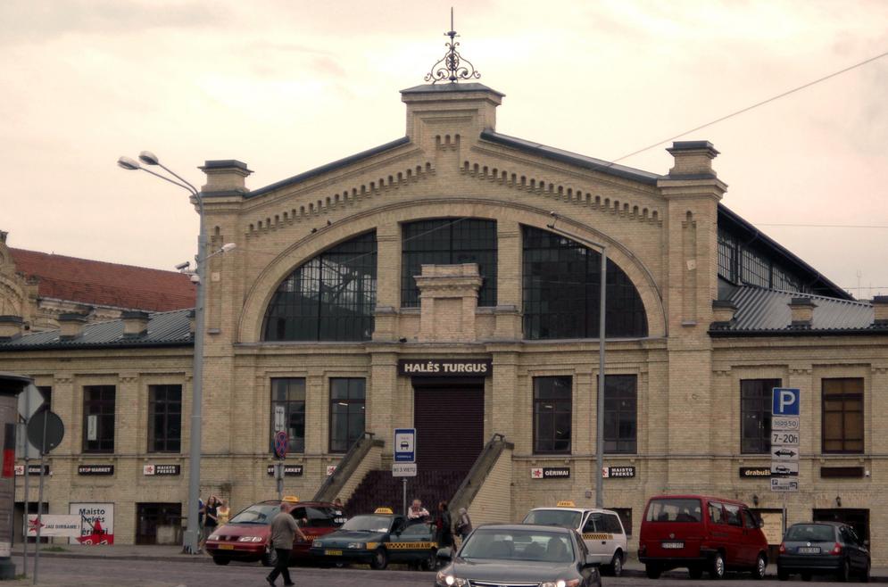 The Hales Market, Vilnius | © holmsius / Wikimedia Commons
