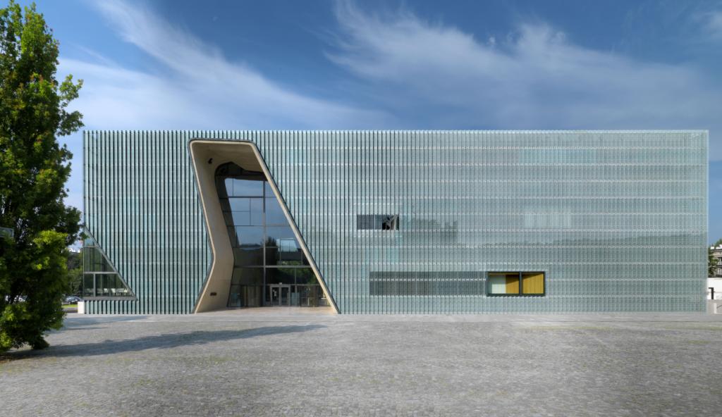Architecturally striking   © W. Kryński / POLIN Museum of the History of Polish Jews