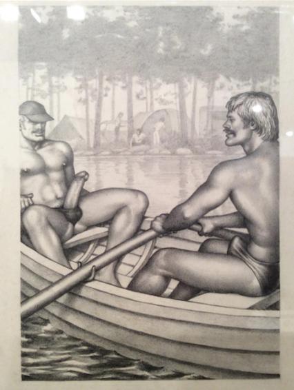 © Tom of Finland Drawings of the David Kordansky Gallery
