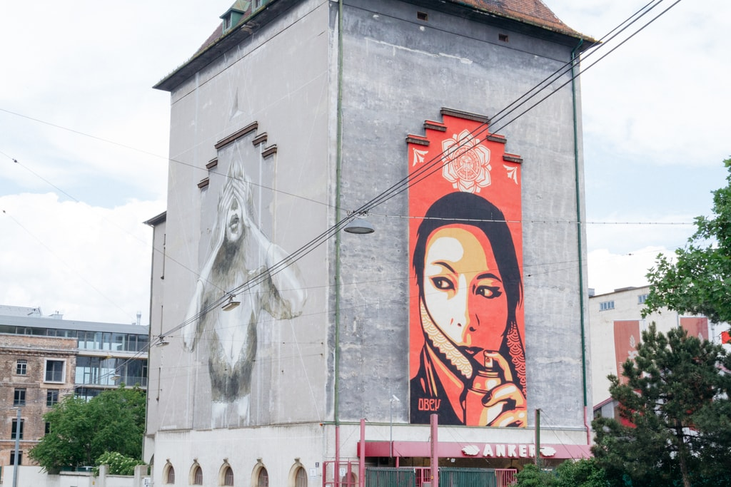 Anker Bread Factory-Vienna Street Art-Vienna-Austria