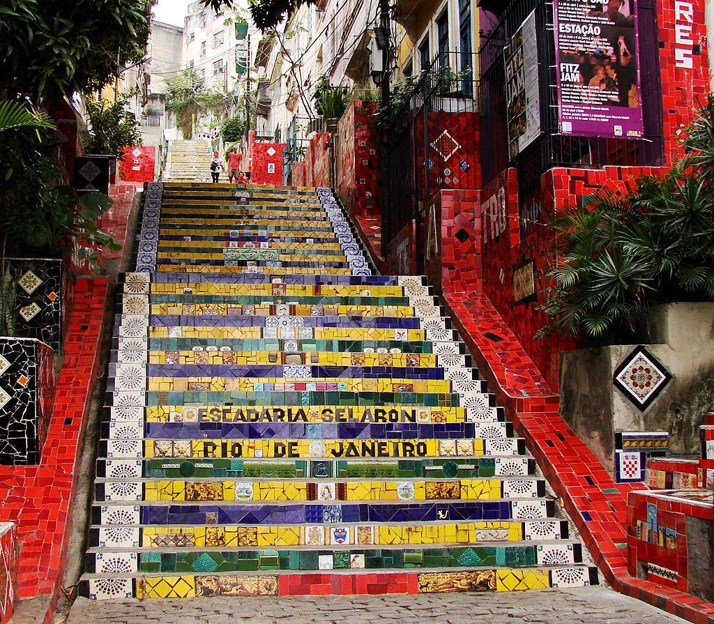 Escadaria Selaron |© Marshallhenrie/WikiCommons
