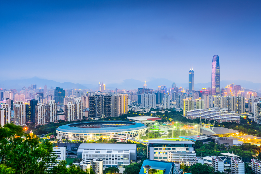 Shenzhen, China financial district skyline| © ESB Professional/Shutterstock