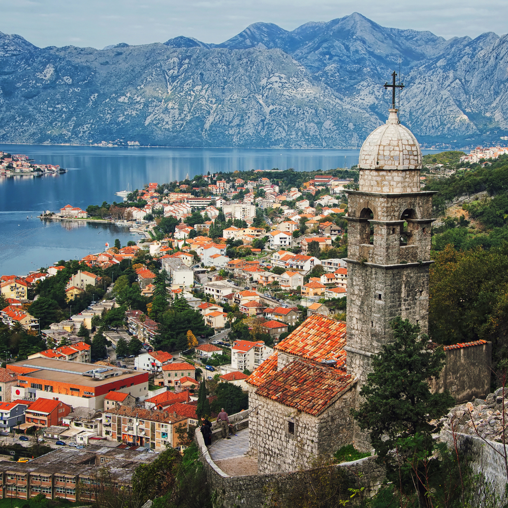 Kotor fortress and Bay | © M.V. Photography/Shutterstock