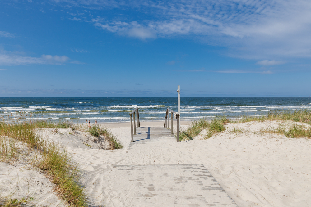Baltic Beach on the Curonian Spit| ©Elena Gordeichik/Shutterstock