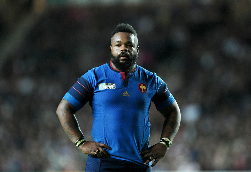 Photo by Joe Meredith/JMP/REX/Shutterstock Mathieu Bastareaud of France RWC 2015 France v Canada, Great Britain - 1 Oct 2015