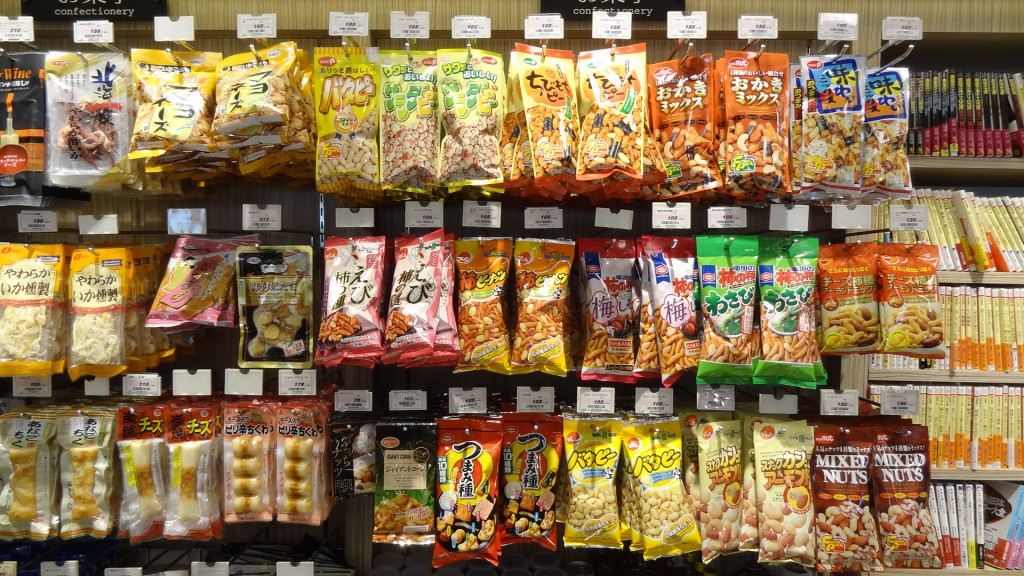 Snacks in a Japanese Convenience Store |© Martin Lewison / Wikimedia