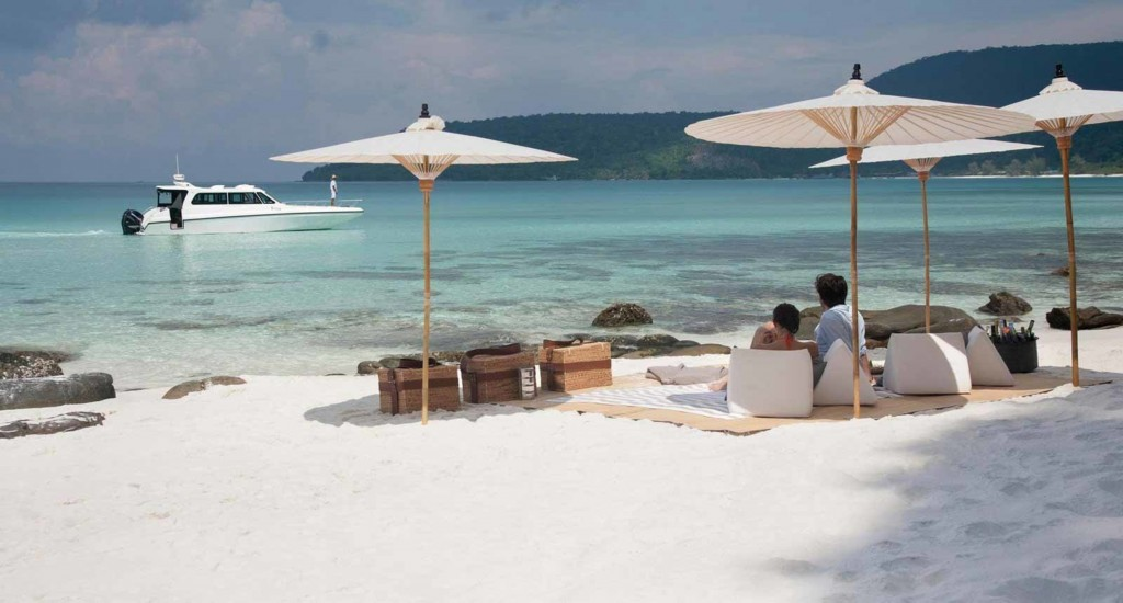 One of the postcard perfect beaches at Song Saa Private Island © Song Saa