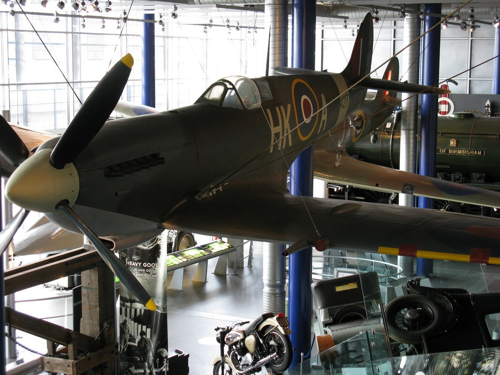 Spitfire jet at Thinktank, Birmingham