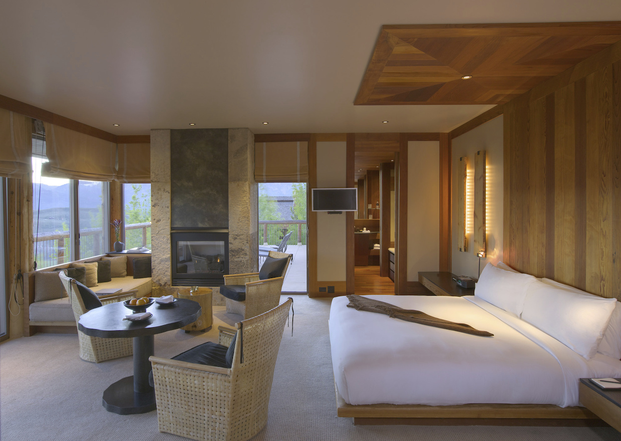 Spring Gulch Suite Bedroom | Courtesy of Aman