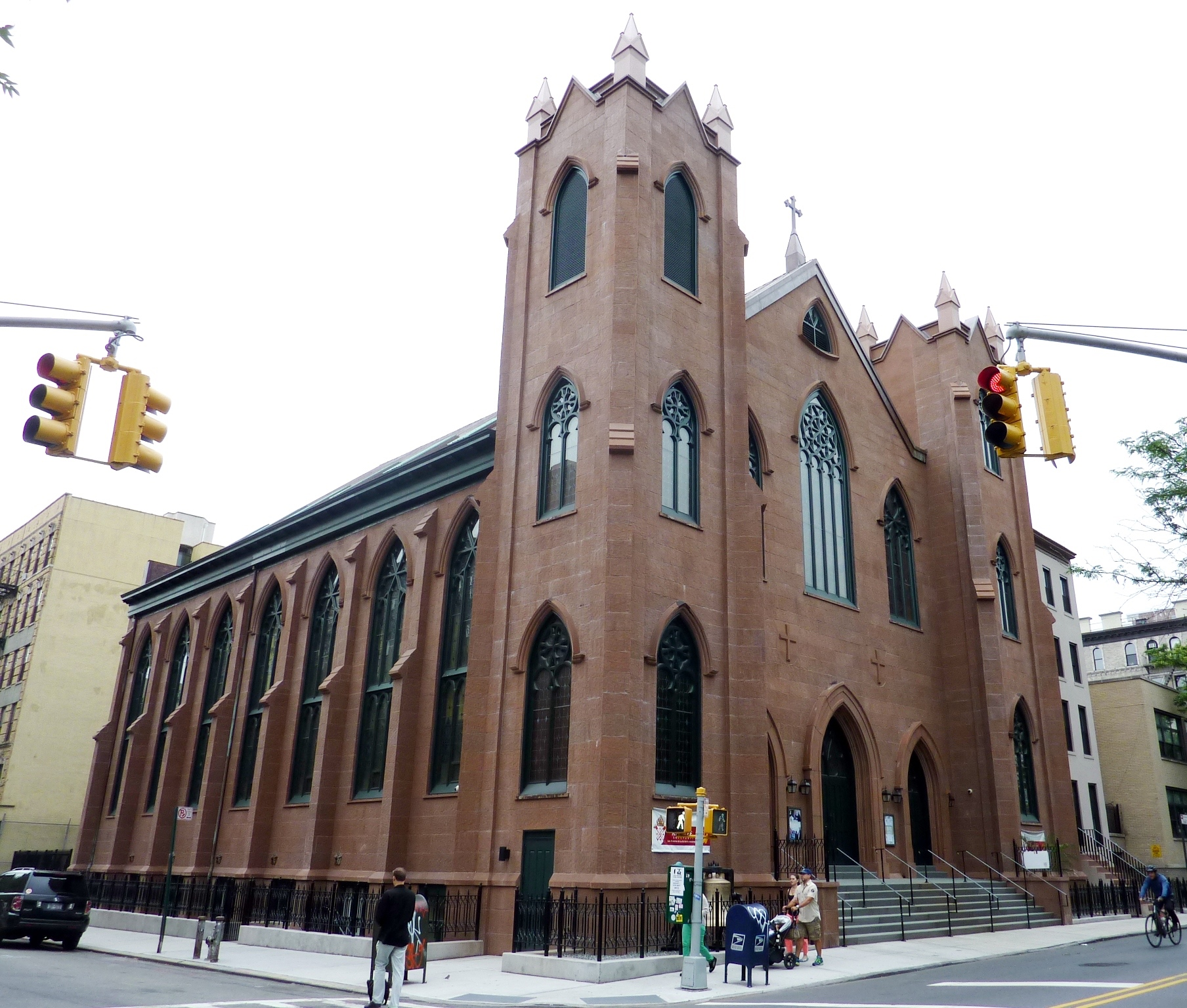 St. Brigid's Roman Catholic Church in Manhattan, Courtesy of Wiki Images