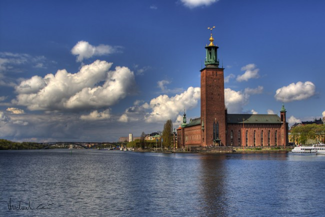 Stockholm City Hall | ©Michael Caven/Flickr