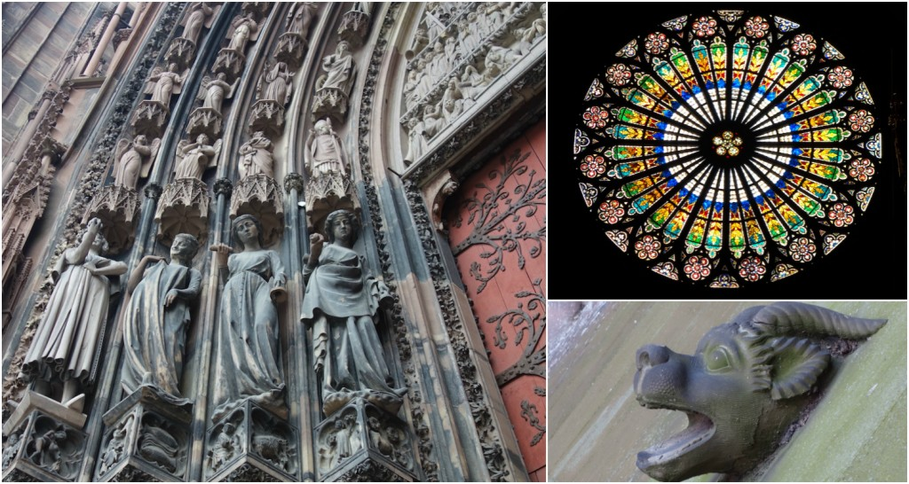 Treasures of Strasbourg Cathedral down to the smallest details © Sylvia Edwards Davis