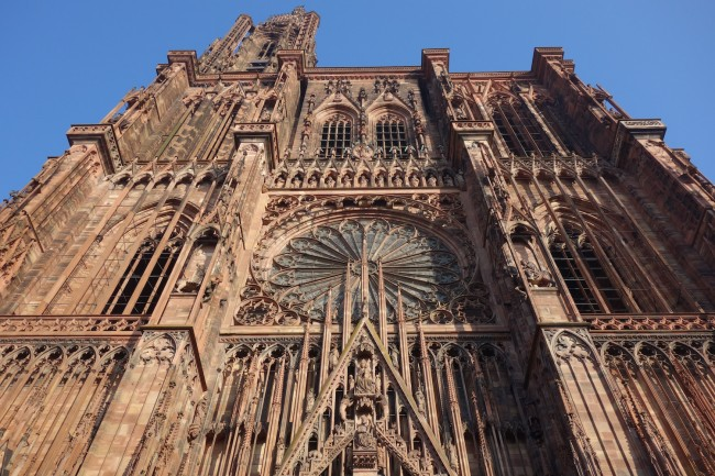 A brief history of strasbourg cathedral for K architecture strasbourg