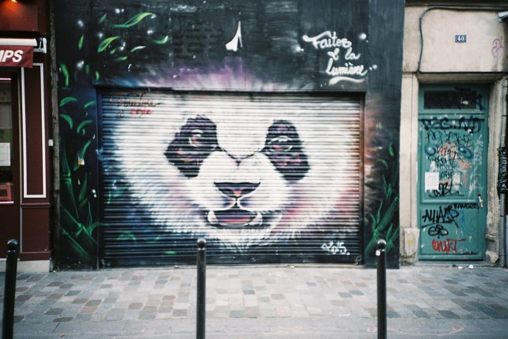 Street art on Rue Tourtille, Belleville │© Bad Monkey / Flickr