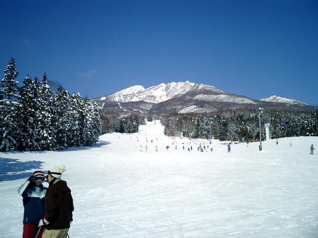 Suginohara Ski Resort, one of Myoko Kogens big three | © Takkitakitaki/WikiCommons