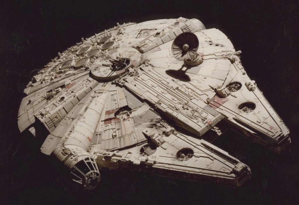 Millennium Falcon, STAR WARS™: Episode IV A New Hope, Model. © & ™ 2014 Lucasfilm Ltd.