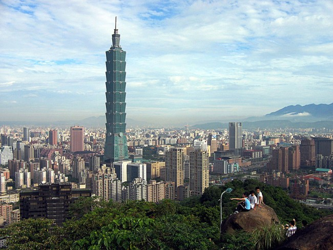 A Brief History of Taiwan's Taipei 101
