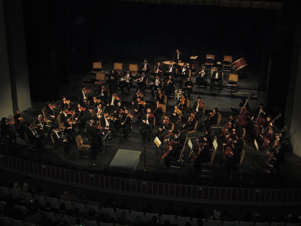 Tehran Symphony Orchestra at Vahdat Hall | © MRG90 / Flickr
