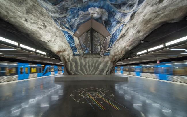 Tekniska högskolan metro station |©Arild/Flickr