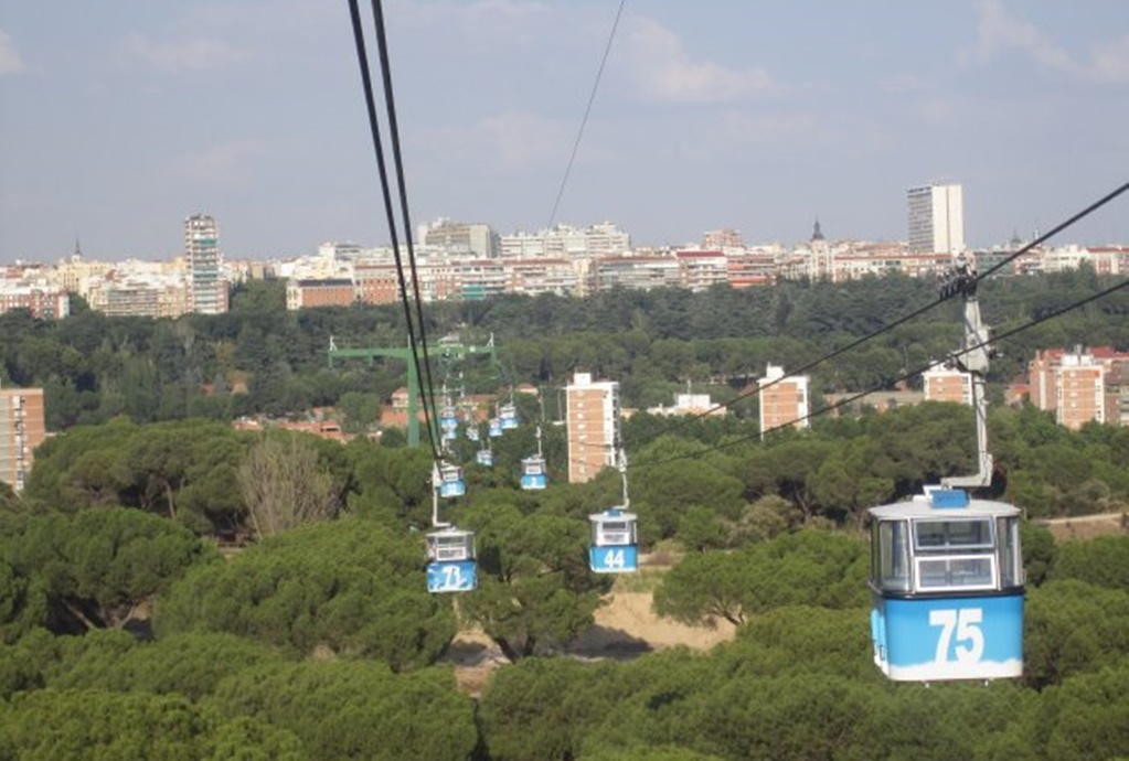 The cable car at Casa de Campo | © Lori Zaino