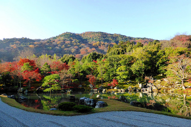Garden at Tenryu-ji Temple