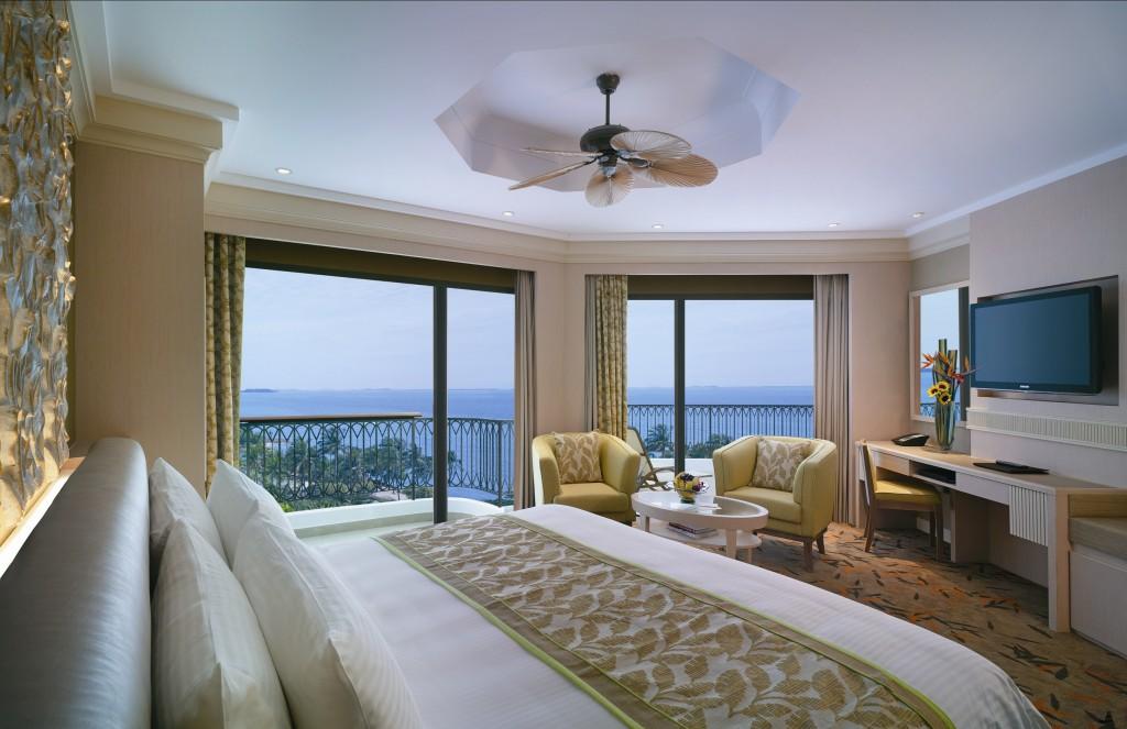 Terrace Sea View Room Courtesy of Shangri-La Rasa Sentosa
