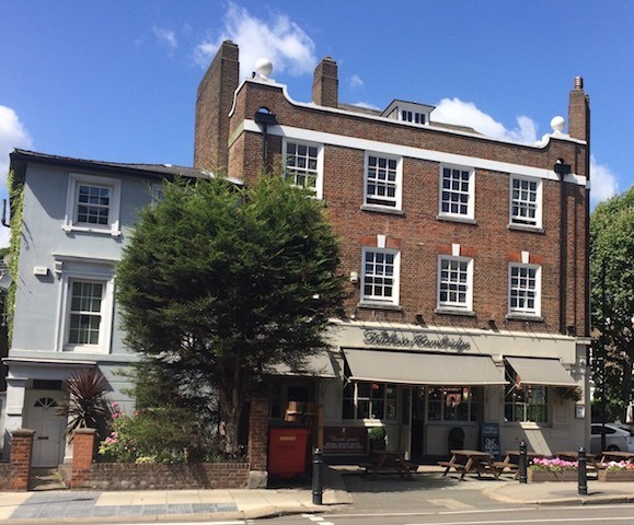 The outside of the Duchess of Cambridge pub