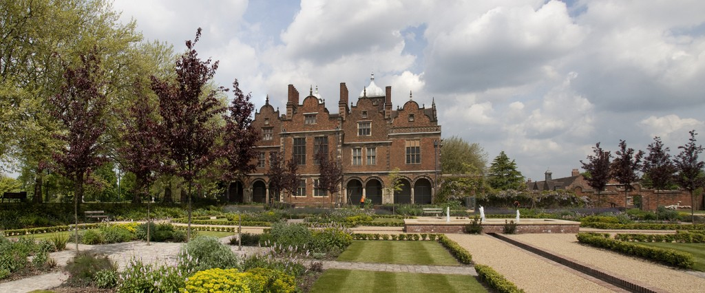 The gardens at Aston Hall