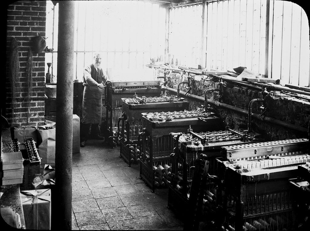 Rathbornes candle factory circa 1900 | © National Library of Ireland/Flickr