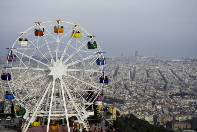 Tibidabo Park | © Jimmy Baikovicius/Flickr