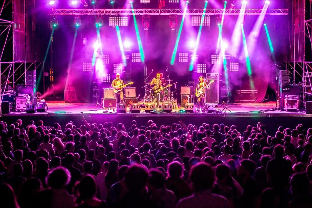 The stage at the 2016 Tomavistas Festival | © Javier Rosa/Tomavistas