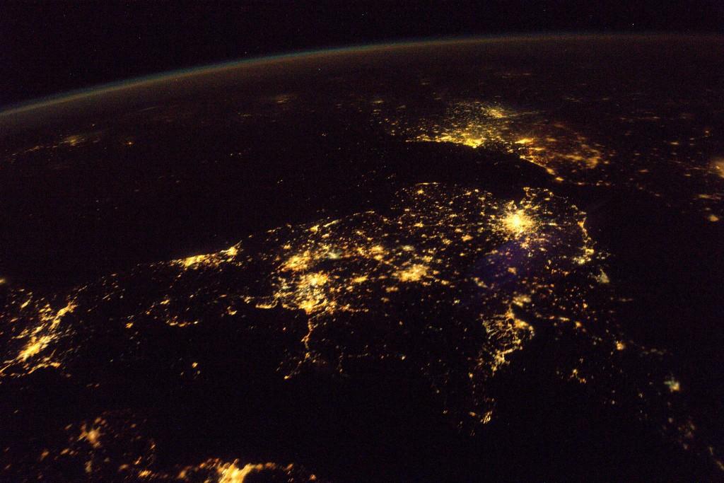 United Kingdom │© ESA/NASA