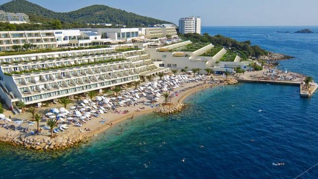 The best beach hotels in dubrovnik croatia for Design hotel dubrovnik