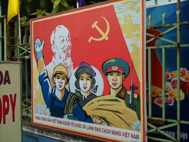 Vietnam War Propaganda Poster © Dragfyre
