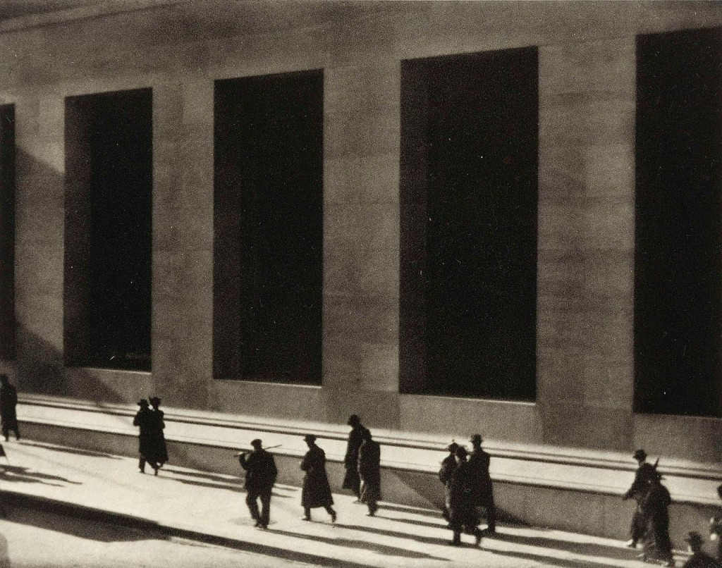 Wall Street by Paul Strand, 1915 | Courtesy of WikiCommons