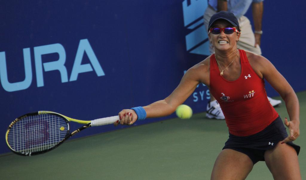 Arina Rodionova of the Washington Kastles vs. the NY Sportimes | © David/Flickr