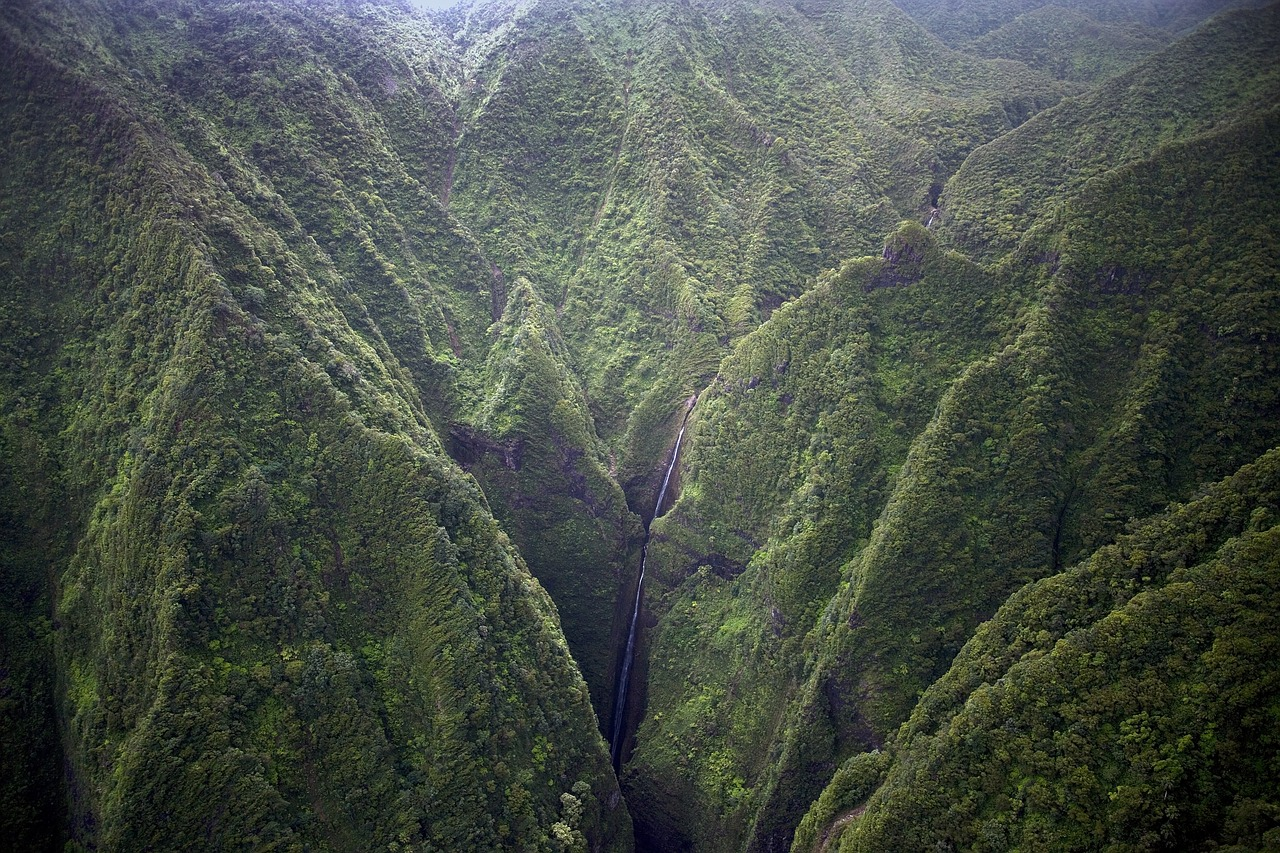 Honokohau Falls, Maui | Public Domain/Pixabay