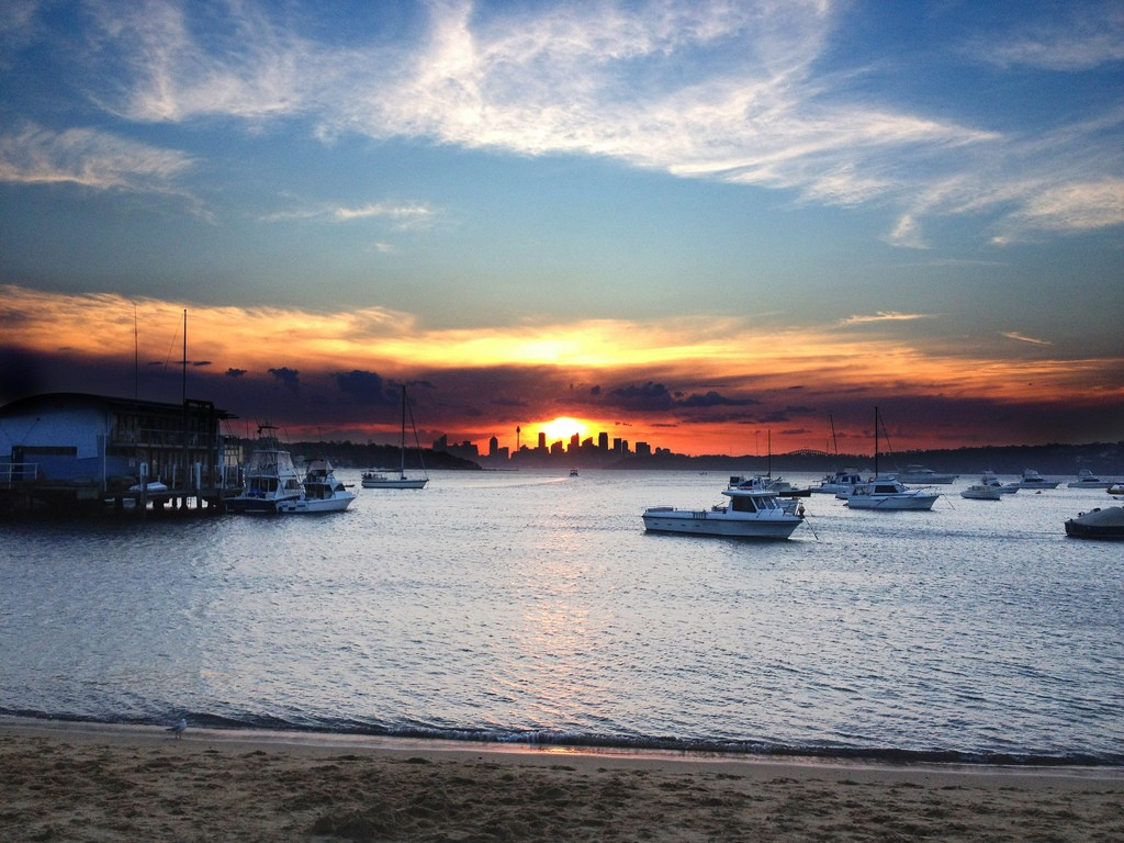 Watsons Bay Sunset byDean Croshere / Flickr