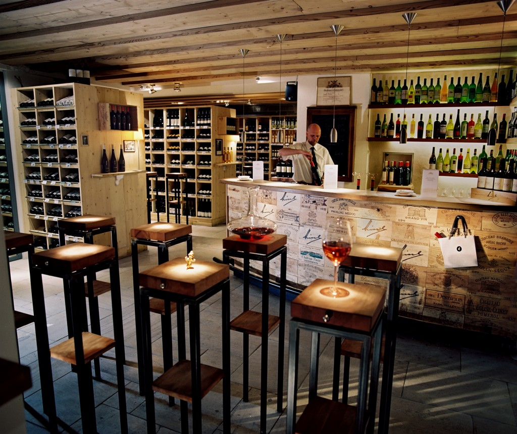 The interior of the wine bar. © Meinl's Weinbar