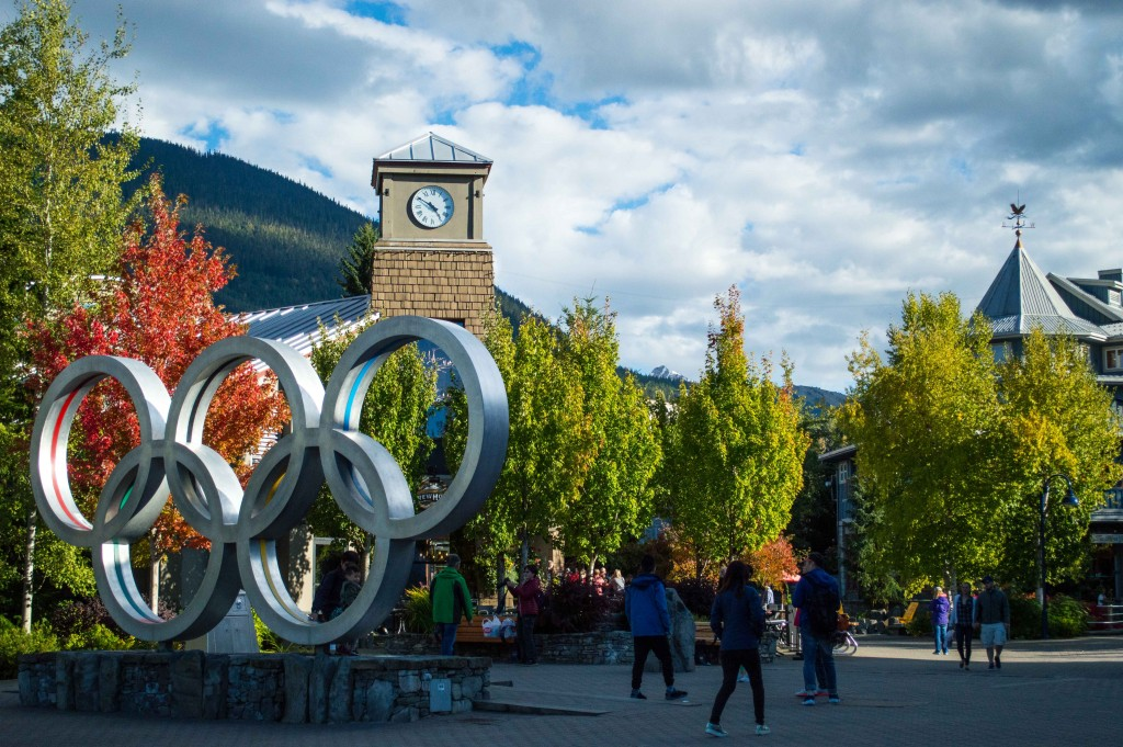 Whistler's Olympic Village | © Hayley Simpson