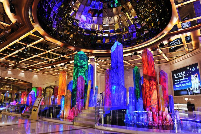 Wishing Crystals | courtesy of Galaxy Macau