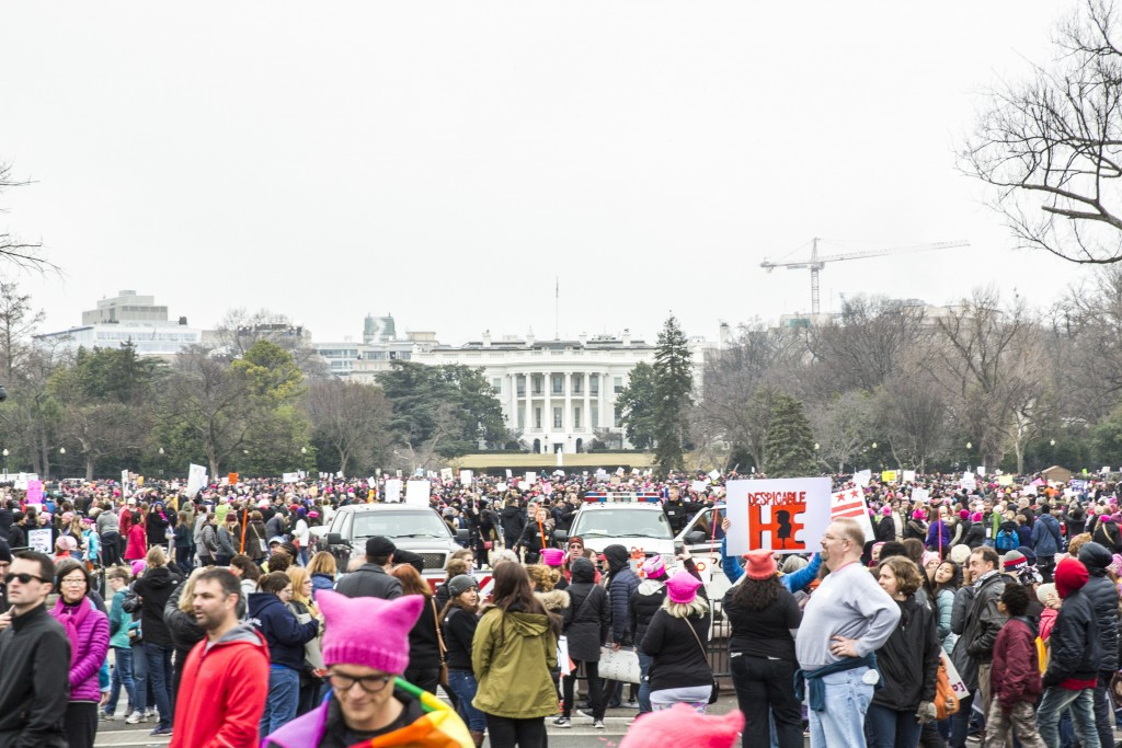 A view of the White House during the Women's March   © Amanda Suarez/Culture Trip